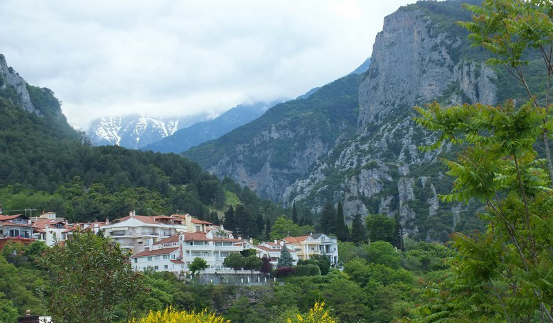accommodation Litochoro Pierias - Mythic Valley